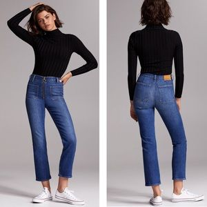 Denim Forum | The Just Peachy Straight Jeans